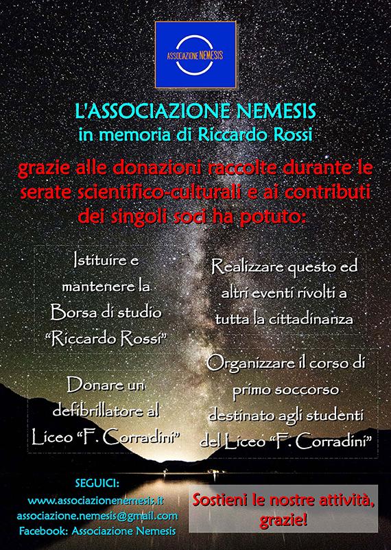 Associazione Nemesis Donazioni